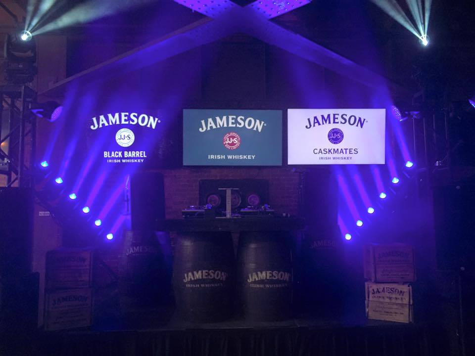 jameson experiential marketing brand activation party