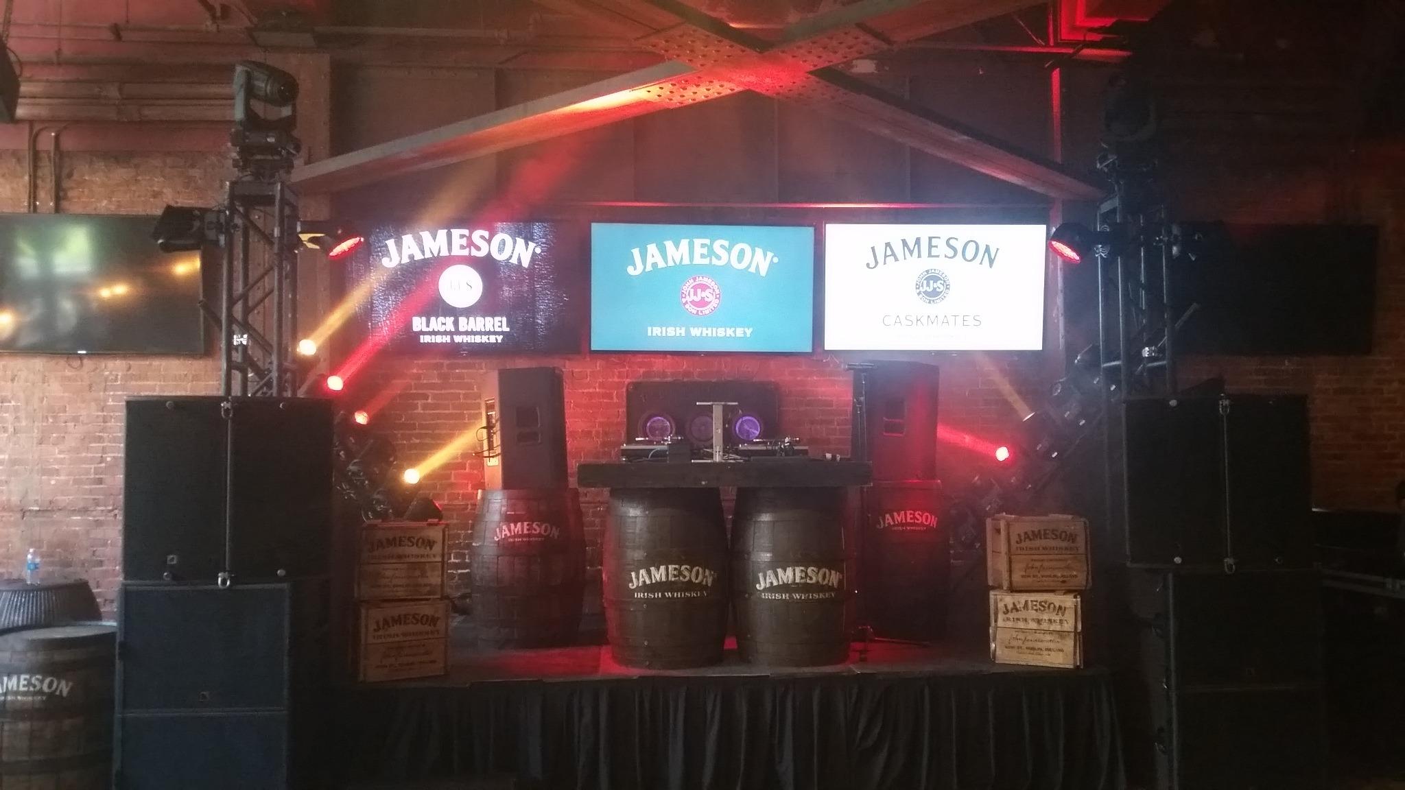 jameson party orlando zenith lighting