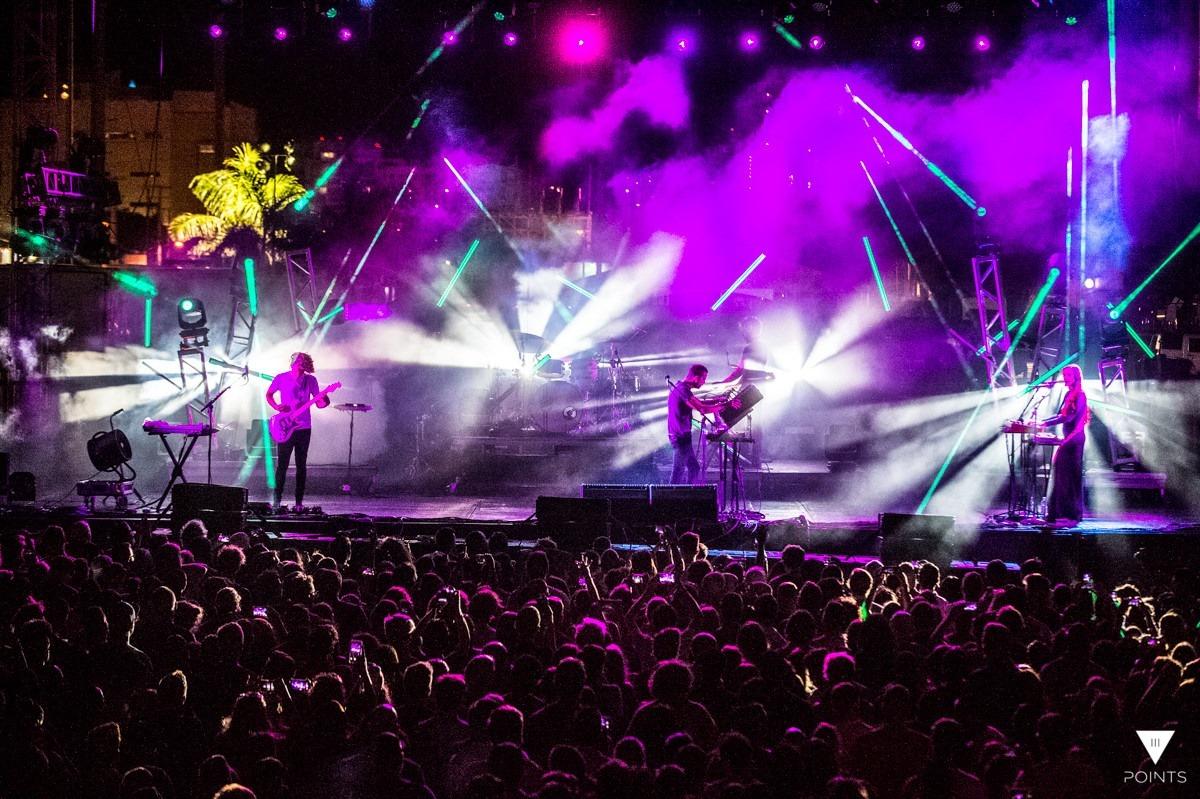 3 points music festival 2016 rental lighting zenith