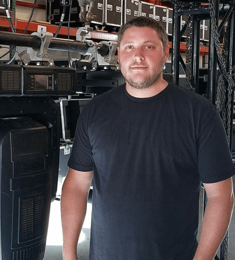 ben coker lighting designer technical manager