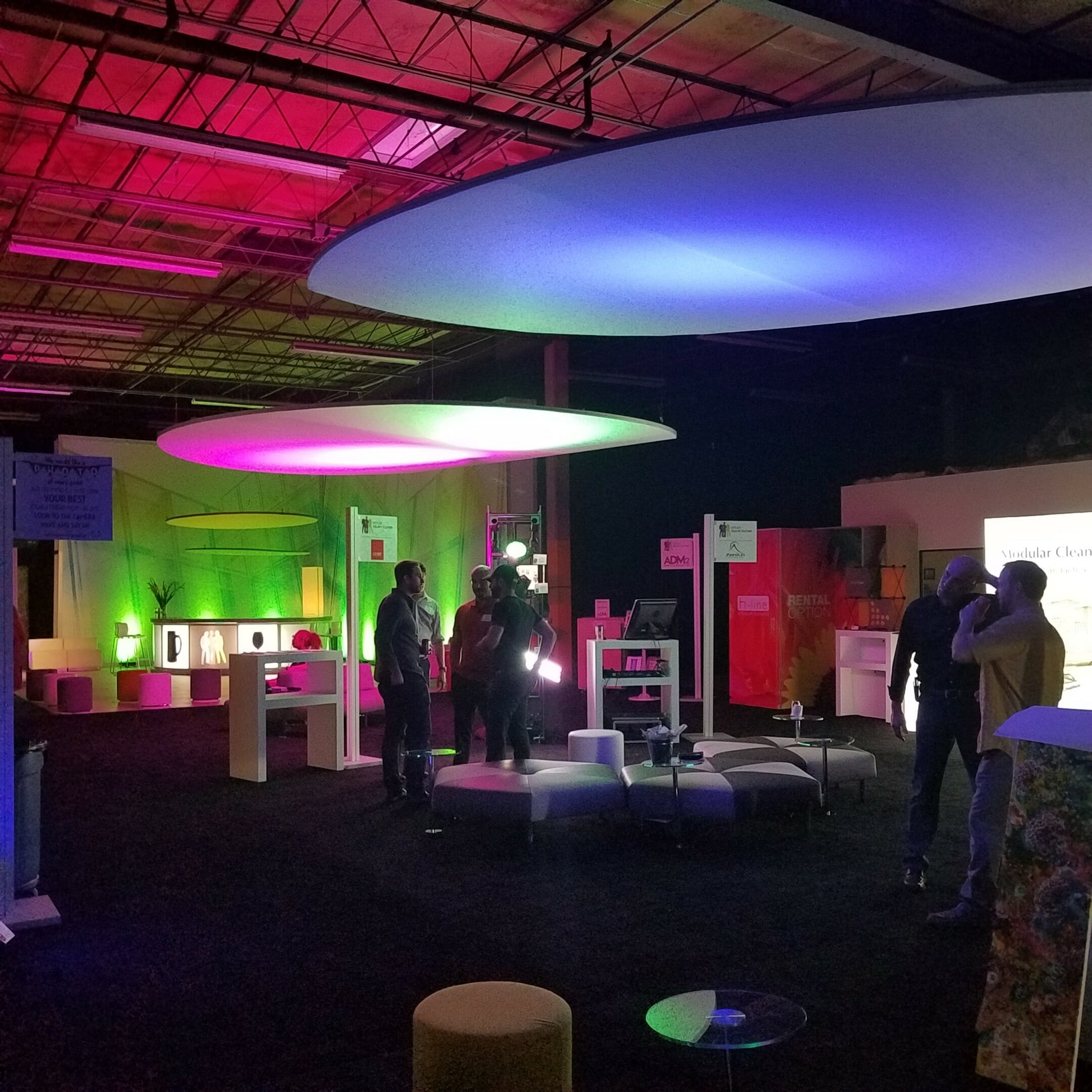 corporate event lighting company orlando